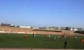 جانب من المباراة أمس في نواذيبو / تصوير الأخبار