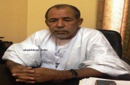 النائب البرلماني ونائب رئيس الجمعية الوطنية الخليل ولد الطيب خلال حديثه للأخبار