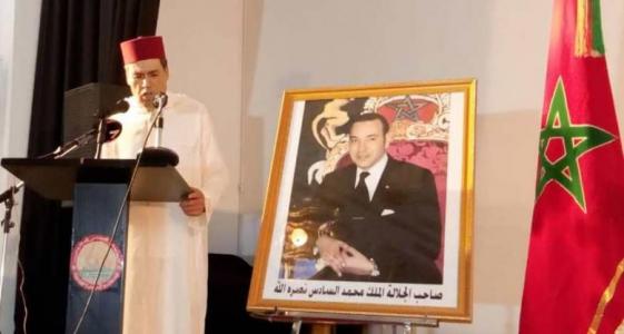 السفير المغربي في نواكشوط حميد شبار خلال نشاط دبلوماسي سابق ـ (أرشيف)