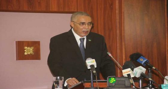 الوزير الأول ولد حدمين أكد في خطابه أمام البرلمان البدء في إنجاز المقاطع خلال الربع الأول من 2018 (وما)