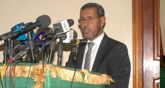 الزعيم الرئيس المعارضة في موريتانيا الحسن ولد محمد
