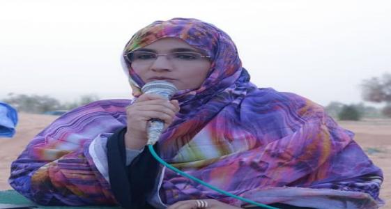 """البرلمانية عن حزب التجمع الوطني للإصلاح والتنمية """"تواصل"""" عيشة بنت بونه"""