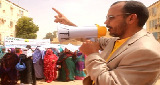الأمين العام للكونفدرالية الوطنية للشغيلة الموريتانية محمد أحمد ولد السالك