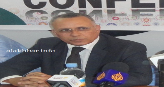 نقيب المحامين الموريتانيين السابق أحمد سالم ولد بوحبيني (الأخبار - أرشيف)
