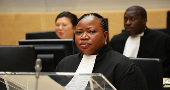 افاتو بنسودة المدعي العام لدى محكمة الجنايات الدولية.