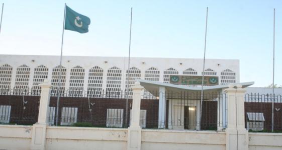 مبنى مجلس الشيوخ قرب القصر الرئاسي بالعاصمة نواكشوط