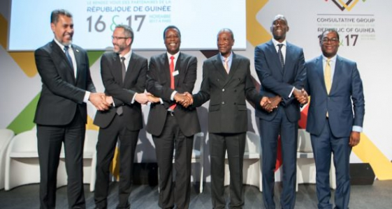 الفريق الاستشاري للشركاء لجمهورية غينيا كوناكري على هامش اجتماع بباريس.