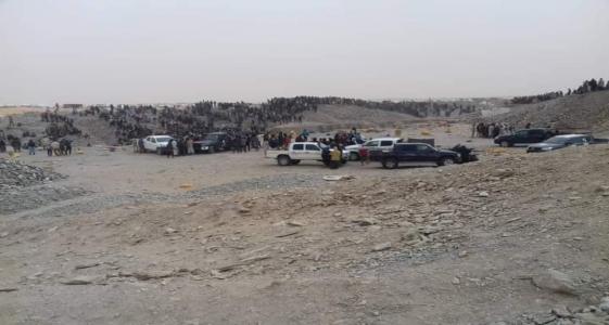 مشهد من المنطقة نشره أحد المنقبين على صفحته في فيسبوك
