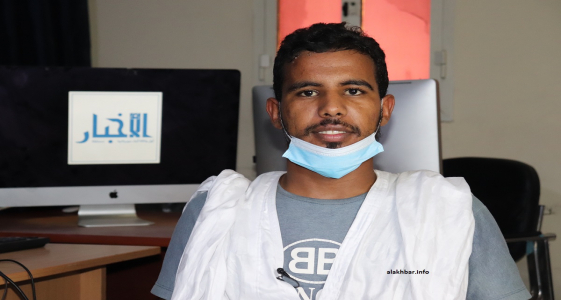 رئيس قسم الاتحاد الوطني لطلبة موريتانيا بالمعهد الشيخ إبراهيم