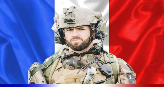 العريف الفرنسي القتيل ماكسيم بلاسكو