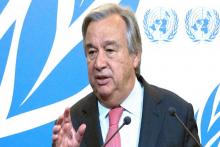 أنتونيو غوتريش: الأمين العام للأمم المتحدة.