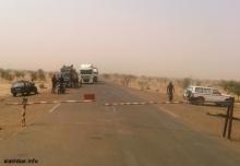 معبر كوكي الزمال الحدودي مع جمهورية مالي ـ (أرشيف الأخبار)