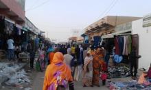 أحد مداخل السوق المركزي في مدينة نواذيبو مساء السبت / الأخبار