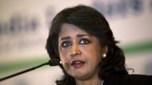 أمينة غريب فقيم رئيسة جمهورية موريشيوس.