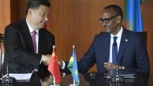 الرئيسان الروندي بول كاغامي والصيني شي جين بينغ