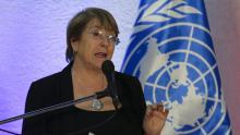 ميشيل باشليت: المفوضة السامية لحقوق الإنسان لدى الأمم المتحدة