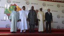 قادة دول الساحل الخمس خلال قمة سابقة بنيامي