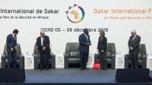 بعض المشاركين في النسخة الثالثة من المؤتمر الدولي للسلم والأمن في إفريقيا.
