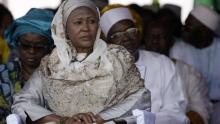 فاتوماتا جالو تامباجانغ الوزيرة المعينة نائبا لرئيس الجمهورية بغامبيا.