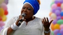 جوزفين نكاما والدة الرئيس الغابوني الحالي علي بونغو أونديمبا.