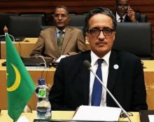 إسلك ولد أحمد إزيد بيه - وزير الخارجية الموريتاني