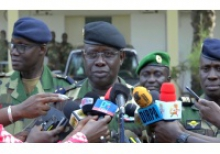 الشيخ غي رئيس الأركان العامة للقوات المسلحة السنغالية.