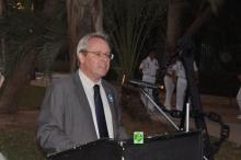 السفير الفرنسي في نواكشوط جويل مايير خلال حفل تخليد ذكرى المحاربين القدامى (وما)