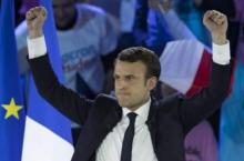 الرئيس الفرنسي الجديد إيمانويل ماكرون