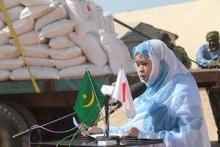 مفوضة الأمن الغذائي بموريتانيا نجوى منت الكتاب