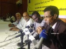 نقيب الصحفيين خلال كلمته مساء الثلاثاء في حفل انطلاق حملته لنيل ثقة الصحفيين لمأمورية جديدة (الأخبار)