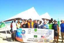 صورة من المشاركين في اليوم التطوعي ـ (AMI)