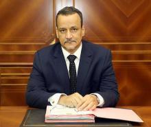 اسماعيل ولد الشيخ أحمد وزير الشؤون الخارجية والتعاون.