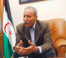 االرئيس الصحراوي إبراهيم غالي