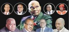 بعض رؤساء عدد من اللوائح المتنافسة في الانتخابات التشريعية.