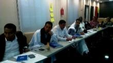 جانب من مشاركة الصحفيين في الدورة التكوينية في الاعلام والهجرة بنواذيبو (تصوير الأخبار)