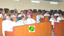 مجلس الشيوخ خلال جلسة سابقة له (وما)