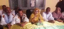إدارة حملة التعديلات الدستورية في تفرغ زينة خلال افتتاح التكوين القانوني