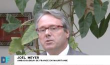 السفير الفرنسي بموريتانيا جويل ماير.