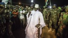 الرئيس الغامبي السابق يحي جامى
