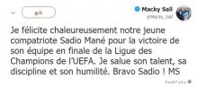 تغريدة الرئيس السنغالي ماكي صال