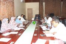 مؤتمر الرؤساء بالجمعية الوطنية خلال اجتماعه الخميس (وما)