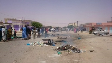 محتجون يغلقون ملتقى طرق مسجد النور بمقاطعة عرفات ـ الأخبار