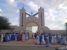 مدخل مباني المعهد العالي للدراسات والبحوث الإسلامية بنواكشوط