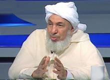 رئيس منتدى تعزيز السلم في المجتمعات المسلمة في أبو ظبي ورئيس المركز العالمي للتجديد والترشيد في لندن الشيخ عبد الله بن بيه