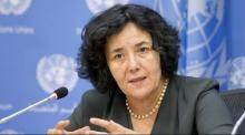 ليلى زروقي: الجزائرية المعينة على رأس البعثة الأممية بالكونغو الديمقراطية.