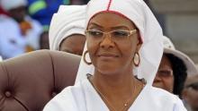 غريس موغابي السيدة الأولى السابقة في زيمبابوي.