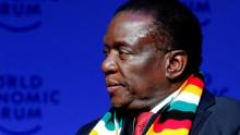 إميرسون منانغاغوا رئيس زيمبابوي.