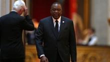الرئيس الكيني أوهورو كينياتا.