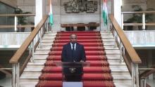 باتريك لاشي: الأمين العام الرئاسة بساحل العاج، لدى إعلانه عن الحكومة الجديدة.