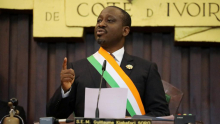 غيوم سورو: رئيس الجمعية الوطنية الإيفوارية المستقيل.